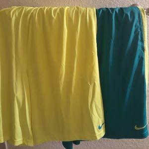Nike dri-fit shorts ( lot of 2 )